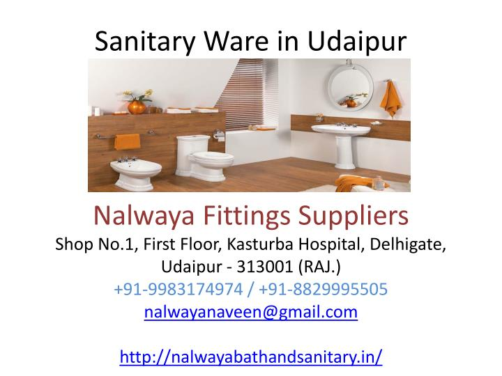Sanitary ware in udaipur
