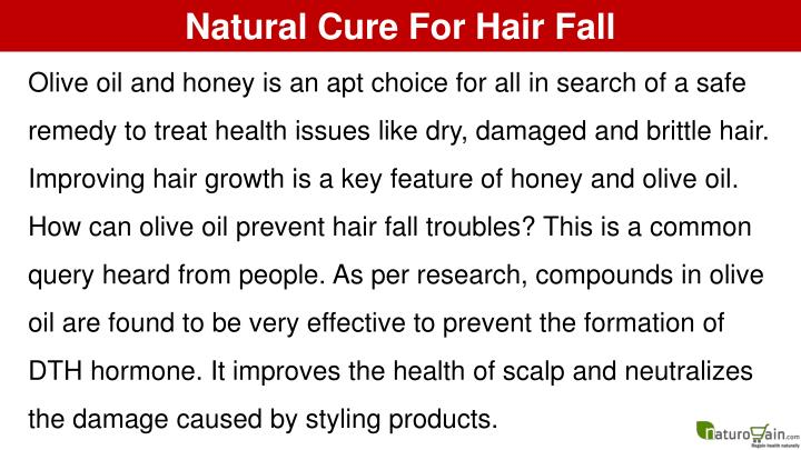 Natural Cure For Hair Fall