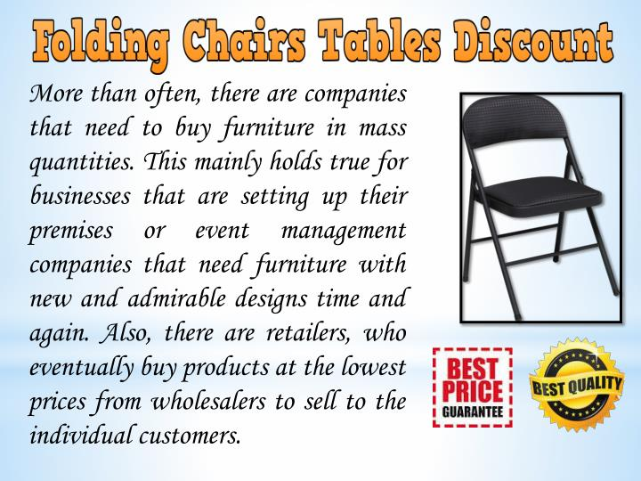 More than often, there are companies that need to buy furniture in mass quantities. This mainly hold...