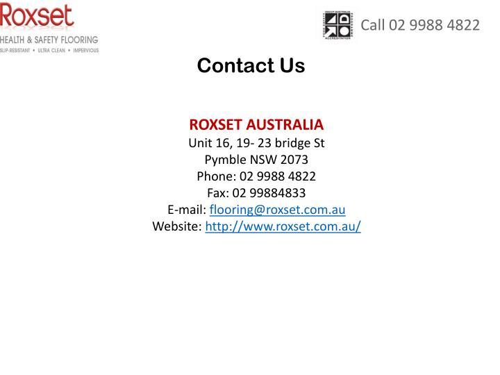 Call 02 9988 4822