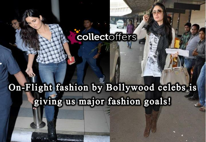 Bollywood actress fashion on airport is giving us major fashion goals