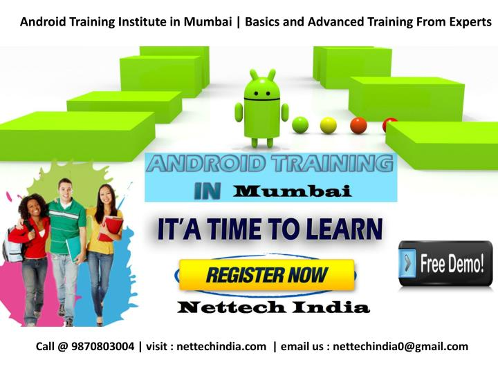 Android Training Institute in Mumbai | Basics and Advanced Training From Experts