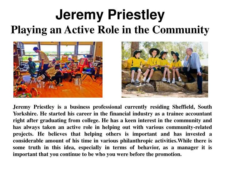 Jeremy Priestley