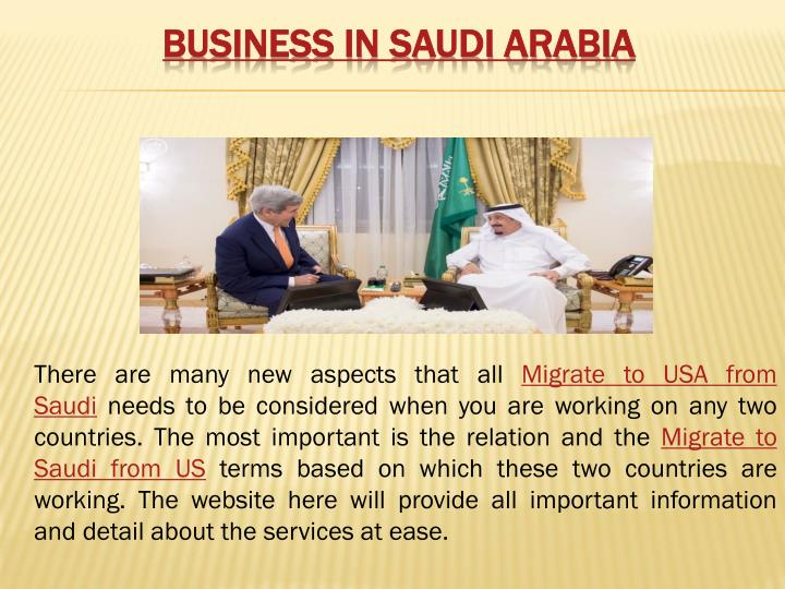 business in Saudi Arabia