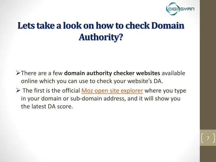 Lets take a look on how to check Domain Authority?