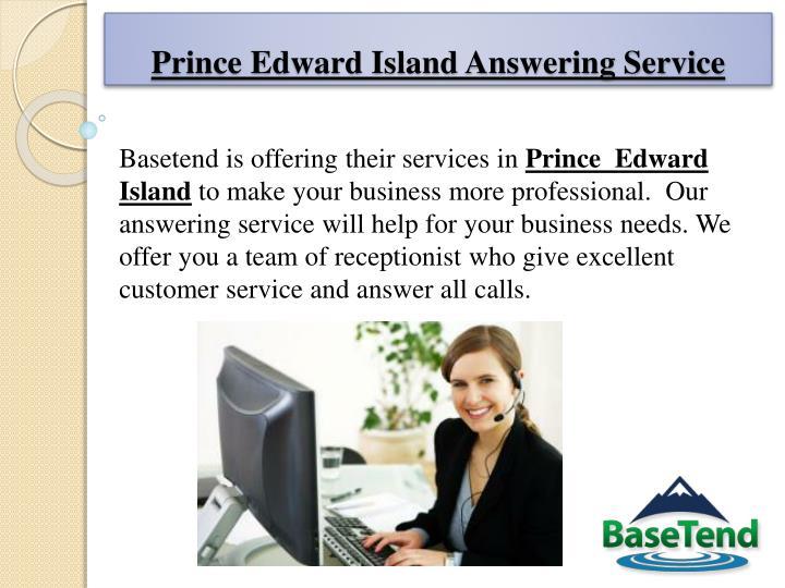 Prince Edward Island Answering Service