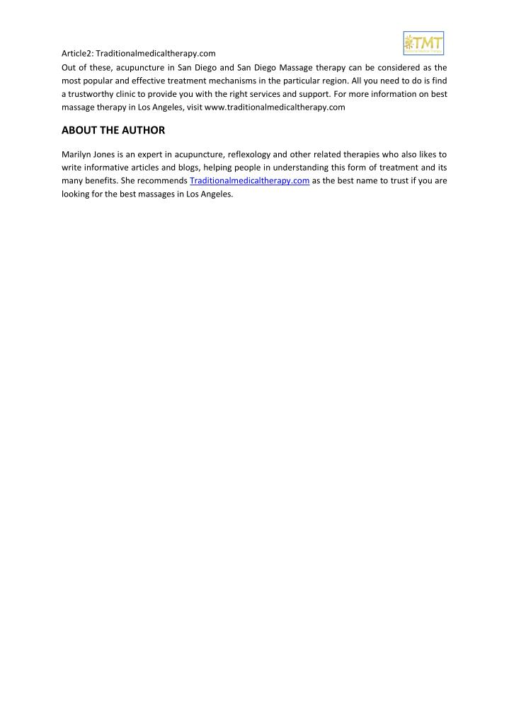 Article2: Traditionalmedicaltherapy.com
