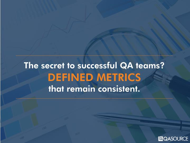 The secret to successful QA teams?