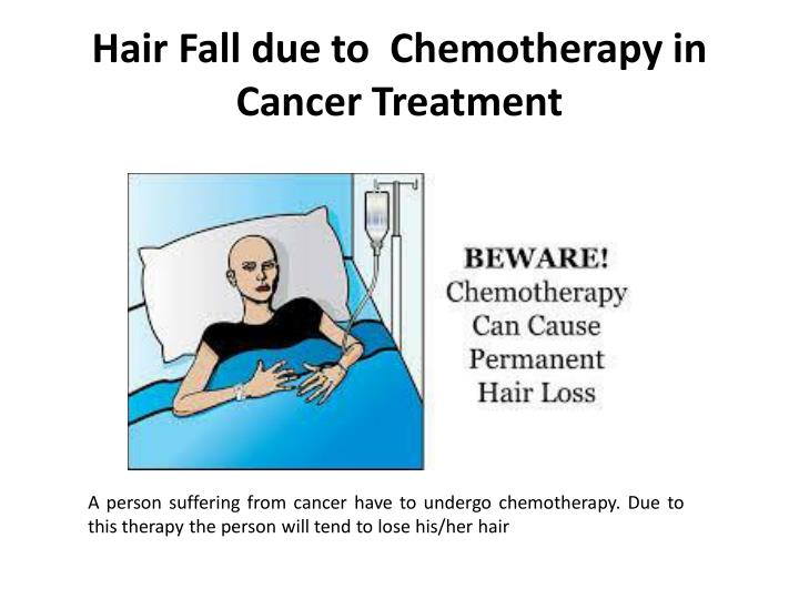 Hair Fall due to  Chemotherapy in
