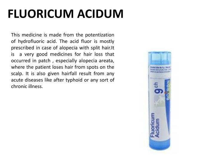 FLUORICUM ACIDUM