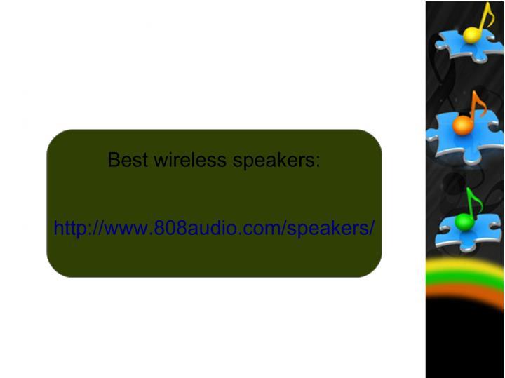 Best wireless speakers: