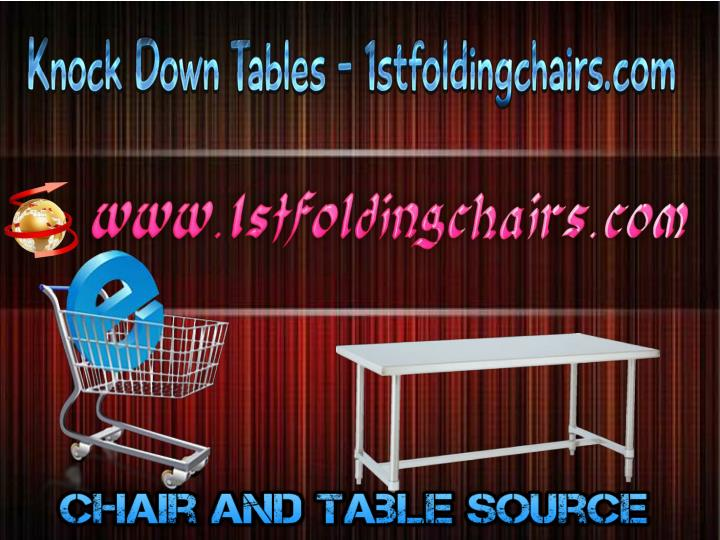 Knock down tables 1stfoldingchairs com