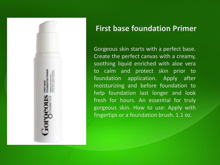 First base foundation Primer