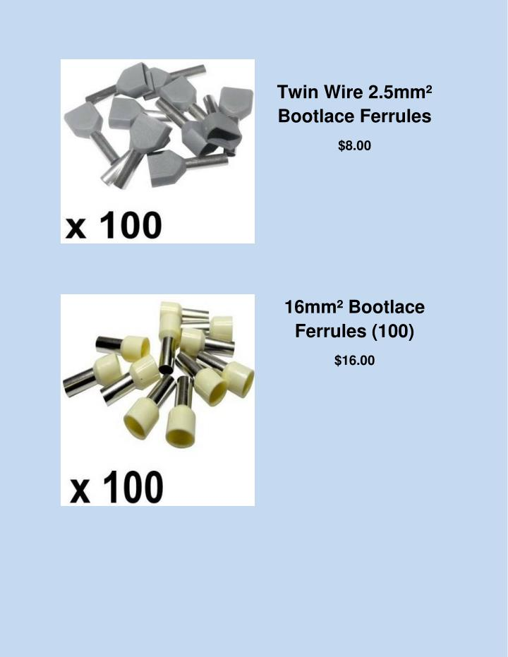Twin Wire 2.5mm²