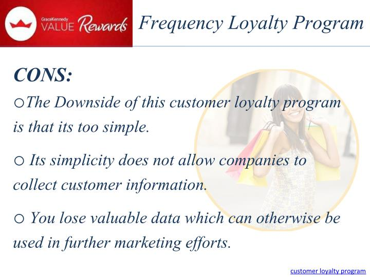 Frequency Loyalty Program