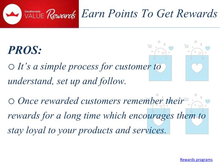 Earn Points To Get Rewards