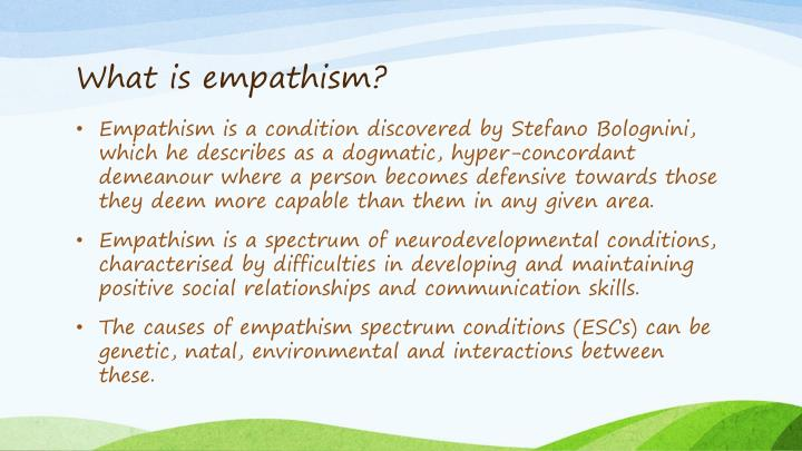 What is empathism