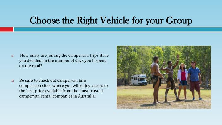 Choose the Right Vehicle for your Group