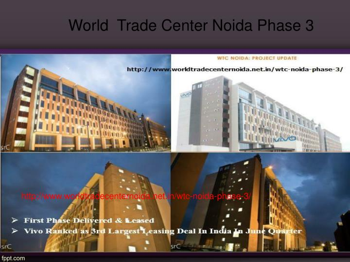 World  Trade Center Noida Phase 3