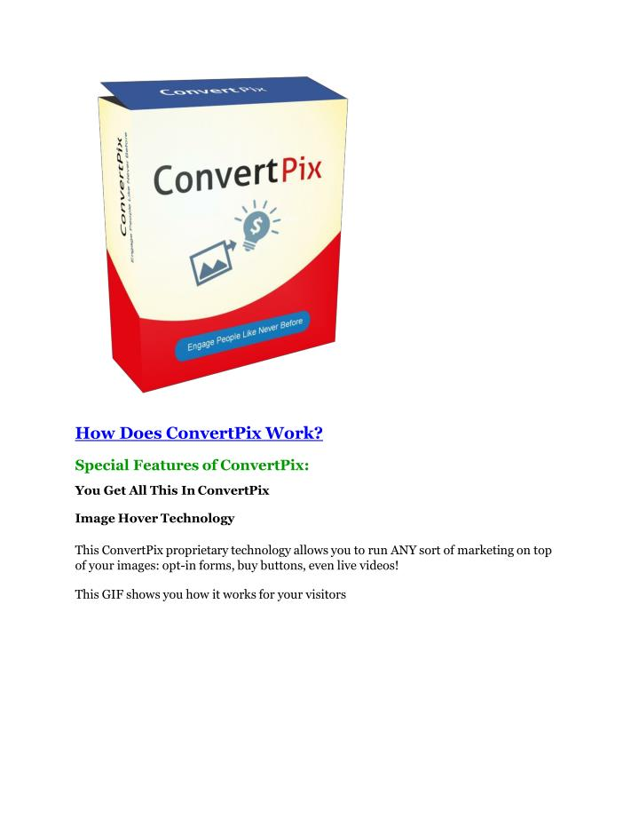 How Does ConvertPix