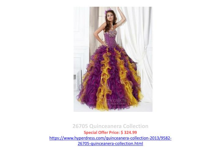 26705 Quinceanera Collection