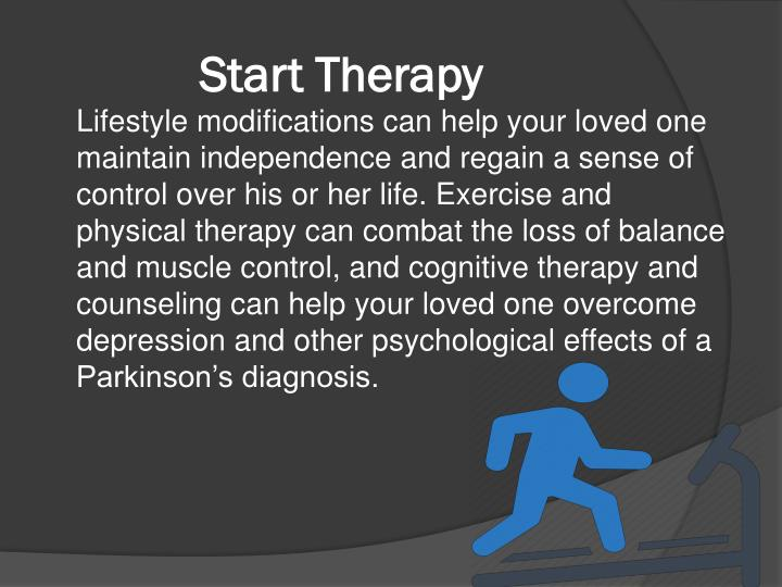 Start Therapy