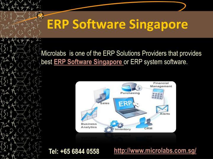 ERP Software Singapore