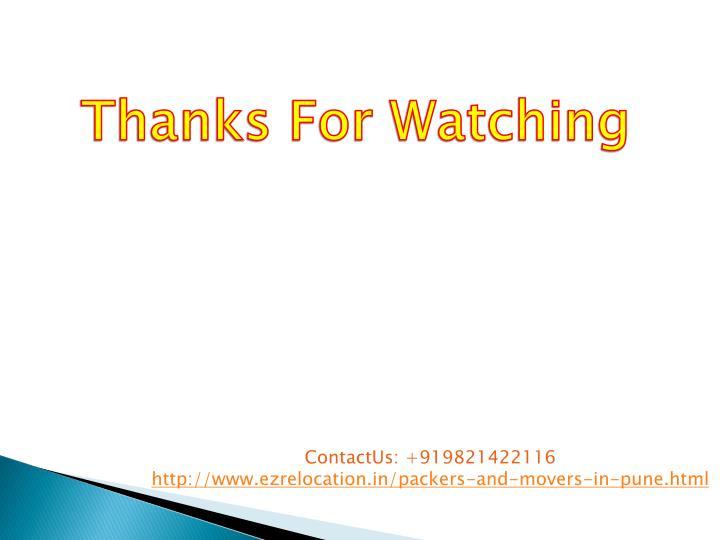 ContactUs: +919821422116