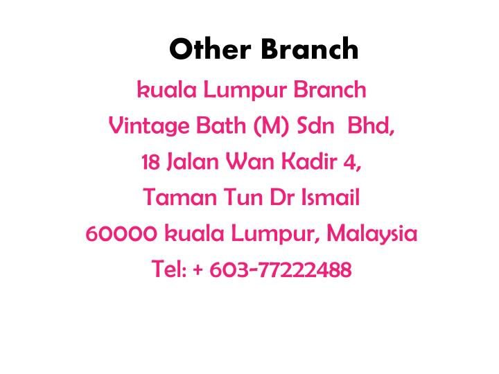 Other Branch