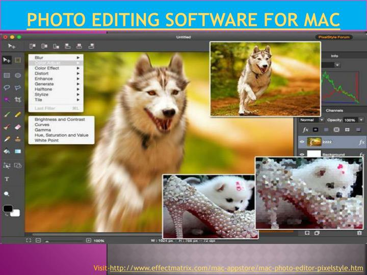 Photo Editing Software for Mac