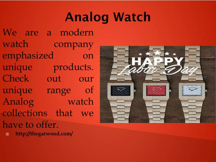 Analog Watch
