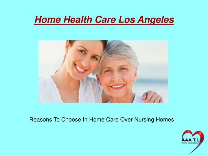 Home Health Care Los Angeles