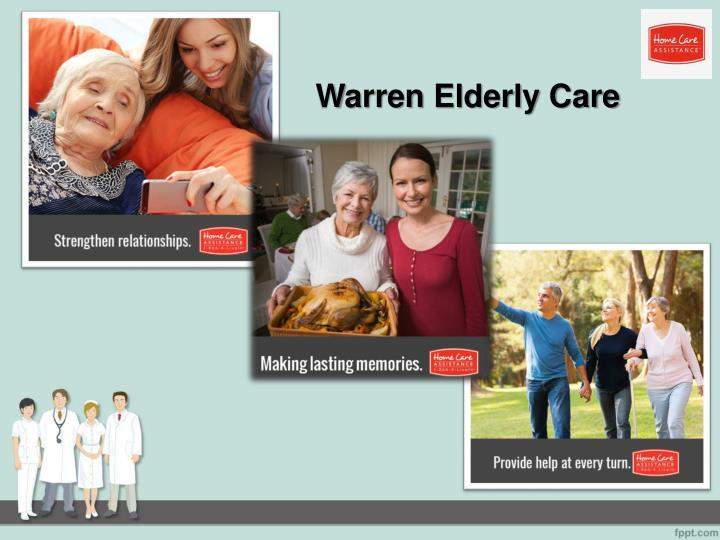 Warren elderly care