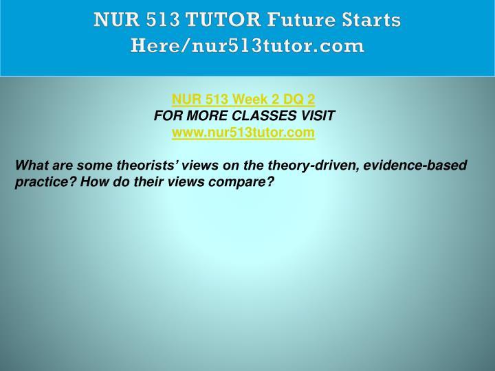 NUR 513 TUTOR Future Starts Here/nur513tutor.com