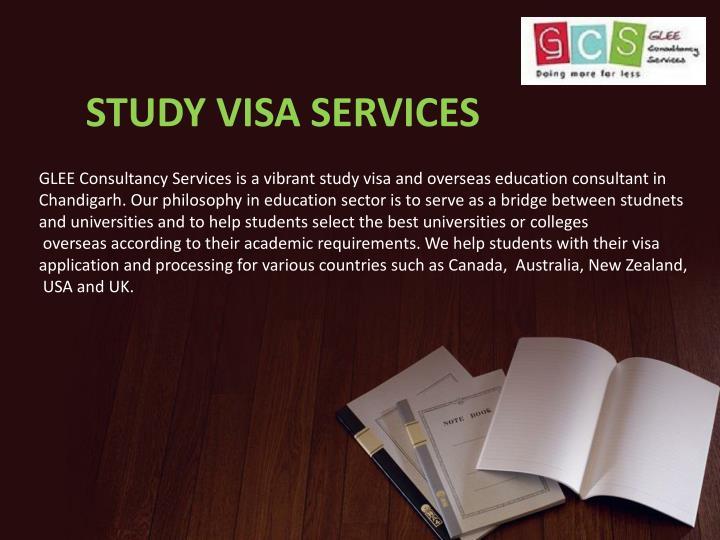 STUDY VISA SERVICES