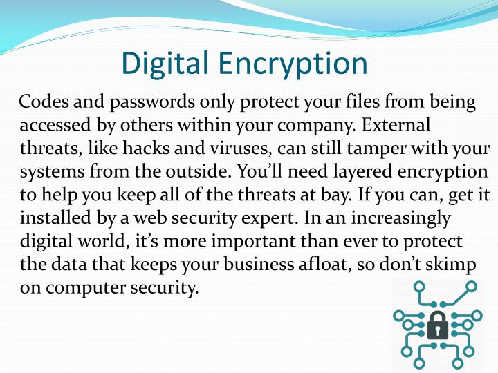 Digital Encryption