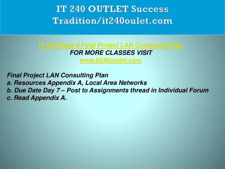 IT 240 OUTLET Success Tradition/it240oulet.com