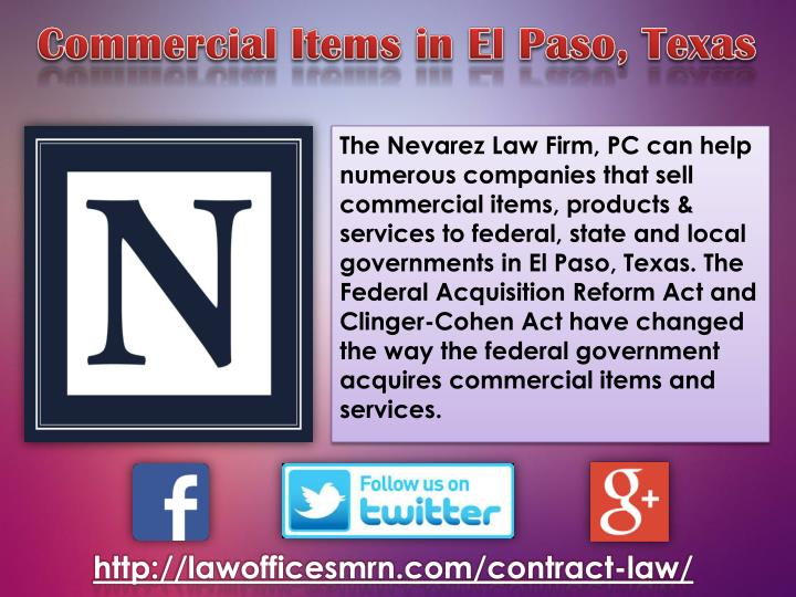 The Nevarez Law Firm, PC can help