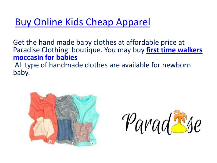 Buy Online Kids Cheap Apparel