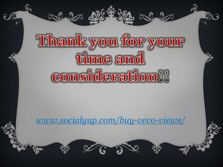 Thank you for your time and