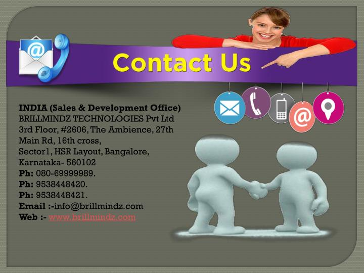 INDIA (Sales & Development Office)
