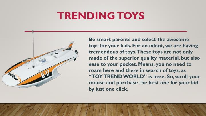 Trending toys