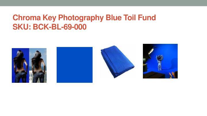 Chroma Key Photography Blue Toil Fund