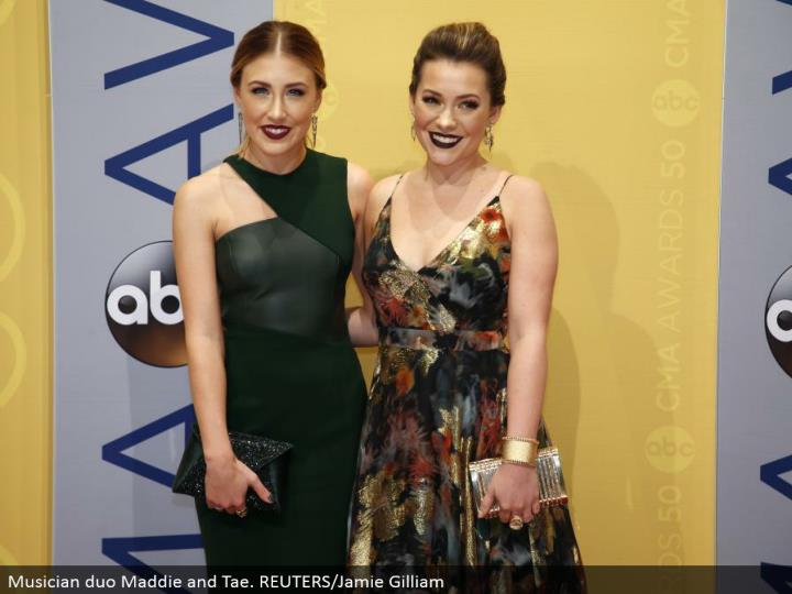 Musician team Maddie and Tae. REUTERS/Jamie Gilliam