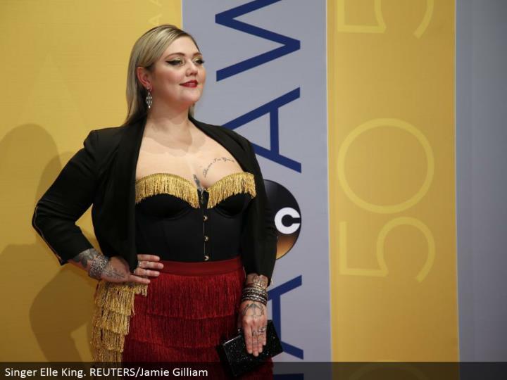 Singer Elle King. REUTERS/Jamie Gilliam