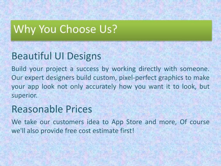 Beautiful UI Designs