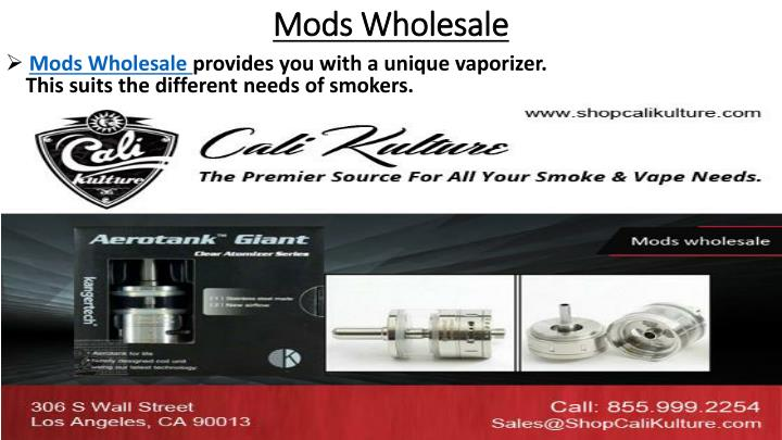 Mods wholesale