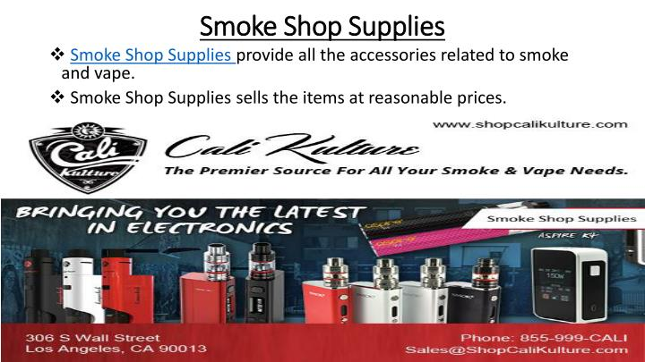 Smoke Shop Supplies