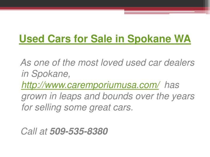 Used Cars for Sale in Spokane WA