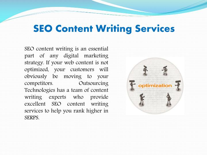 SEO Content Writing Services